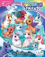 Unicorns & Friends My Busy Book 유니콘과 친구들 비지북 (미니피규어 10개 + 놀이판)