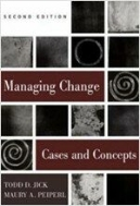 Managing Change : Text and Cases