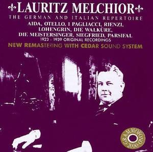 [미개봉] Lauritz Melchior / The German & Italian Repertoire (수입/미개봉/AB78504)