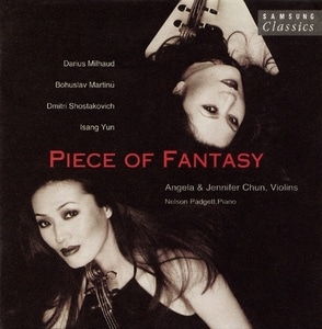Angela & Jennifer Chun / Piece Of Fantasy (SCC030AJC)