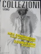 이탈리아 남성패션 잡지 Uomo Collezioni Italian Fashion Magazine  No.46 /사진의 제품 ☞ 서고위치:OE 1