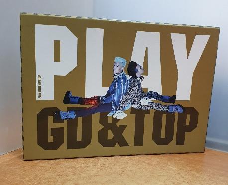 PLAY WITH GD&TOP [2DVD+포토북] =?내외형 깨끗/실사진입니다