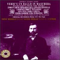 [미개봉] V.A. / Opera Stars Sing Verdi's Un ballo in Maschera (수입/미개봉/AB78527)