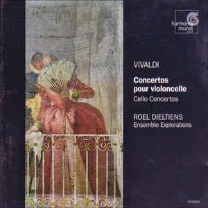 [수입] Roel Dieltiens / Ensemble Explorations - 비발디 Concertos Pour Violoncelle / Cello Concertos