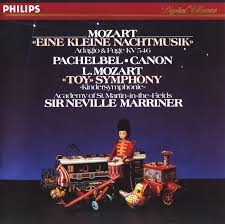 Mozart : eine kleine nacht musik k.525 / adagio & fugue in c minor, k.546 / pachelbel : canon ///LP1