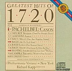 1720: GREATEST HITS OF 1720 [국내제작반]