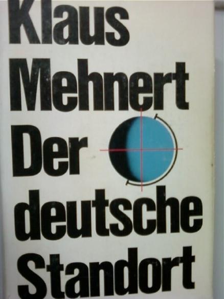 Der deutsche Standort       (Klaus Mehnert/dva/독일어원서/ab)