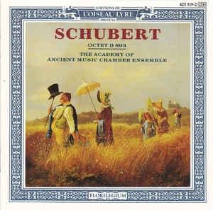 [수입] The Academy Of Ancient Music Chamber Ensemble - Schubert Octet D 803