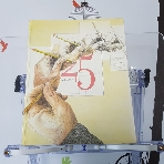 Showcase Illustration 25 --- 실사진 참고,  두권세트입니다