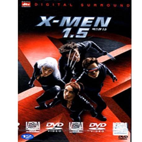 (DVD) 엑스맨 1.5 SE (엑스맨 1편, X-Men 1.5, 2disc)