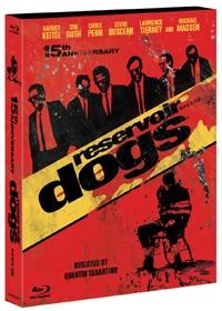 [블루레이] 저수지의 개들 (Reservoir Dogs) (미개봉)  [양장 패키지 콤보팩] 2disc(BD+DVD)/디지팩/투명아웃케이스