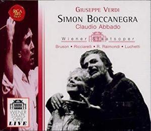 Claudio Abbado / 베르디 : 시몬 보카네그라 (2CD/수입/74321577332)