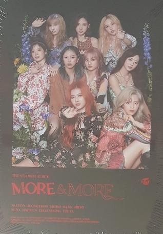 [미개봉] 트와이스 (Twice) - More & More (9th Mini Album)[PHOTOCARD SET(10장 1세트)][멤버사진 1종]
