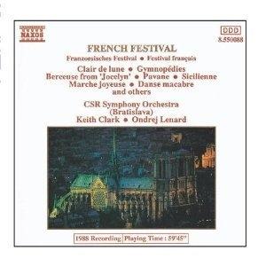 [중고] Ondrej Lenard, Keith Clark / French Festival (수입/8550088)