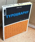 타이포그래피(TYPOGRAPHY) =책머리 학번이름표기외 낙서없이 양호/실사진입니다