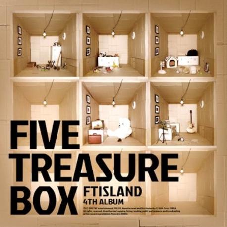 FT아일랜드 (FTISLAND) - 4집 Five Treasure Box