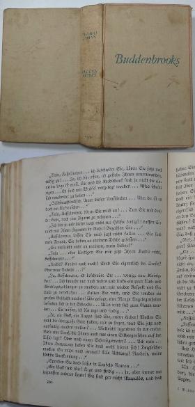 Buddenbrooks :독일어원서 고딕체