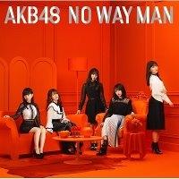 AKB48 / No Way Man (CD+DVD/Type B/초회한정반/수입)