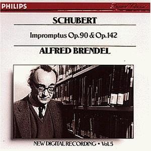 Alfred Brendel / 슈베르트 : 즉흥곡 (수입/4222372)