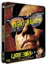 [블루레이] 나이트 크롤러 (Nightcrawler) (미개봉) [쿼터슬립 스틸북 한정판] 36p.북릿+포토카드6매+캐릭터카드3매/스펙띠지