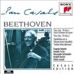 Pablo Casals / 베토벤 : 피아노 삼중주 5번 '유령', 6번, 12 변주곡 (Beethoven : Piano Trio No.5 'Ghost', No.6, 12 Variations WoO.45) (수입/SMK58991