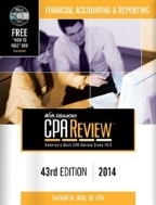 Bisk Comprehensive CPA Review: Financial Accounting & Reporting [ Paperback, 42nd Edition ]  (DVD비포함)