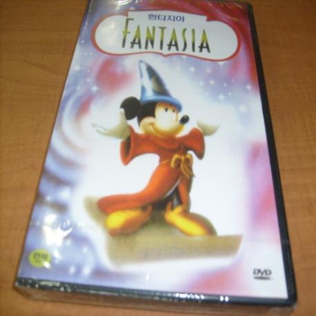 [랩핑 새것 DVD] 판타지아 (Fantasia): 저가 할인상품