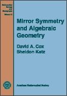 Mirror Symmetry and Algebraic Geometry (ISBN : 9780821810590)