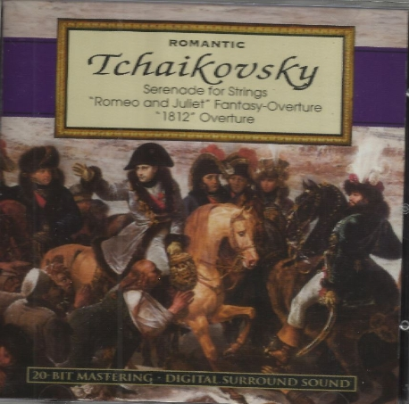 Romantic Tchaikovsky - Serenade for Strings / 1812 Overture [수입] * 차이코프스키