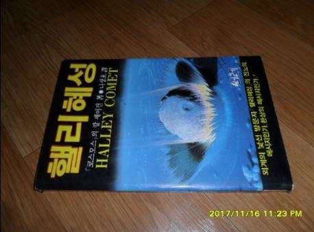 핼리혜성 /1985년초판본/실사진첨부 /54