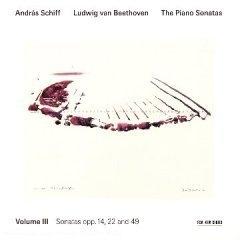[중고] Andras Schiff / Beethoven : Beethoven Piano Sonatas Vol.3 (수입/ecm1943)