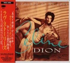[일본반] Celine Dion - The Colour Of My Love