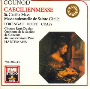 Jean-Claude Hartemann / 구노 : 성 세실리아 미사 (Gounod : St.Cecilia Mass) (수입/4833442)