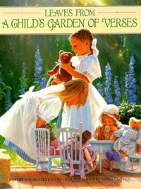 Leaves From A Child's Garden of Verses Hardcover 책상태 약간 낡음