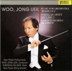우종억 (Woo Jong Uek) / Music For Orchestra Woon Yul (관현악을 위한 음악 운율) (미개봉/de0005)