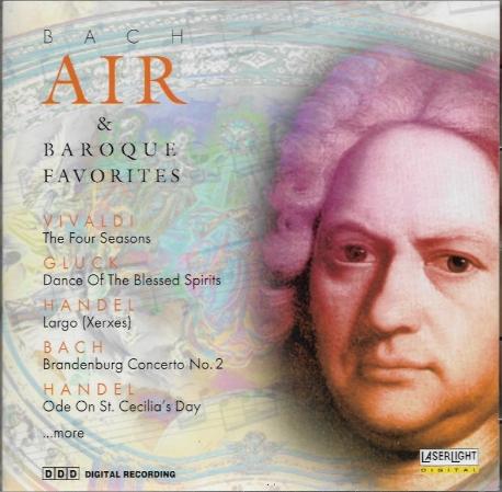 Bach Air (아리아) & Baroque Favorites [수입] * Vivaldi Gluck Handel