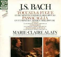 J.S. Bach: Toccata & Fugue in D Minor 565 & Passacaglia in C Minor 582 etc. ///LP11