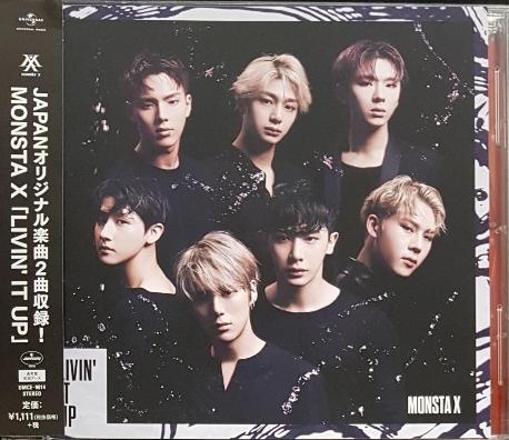[일본반] 몬스타엑스 (Monsta X) - Livin' It Up [포토카드포함]