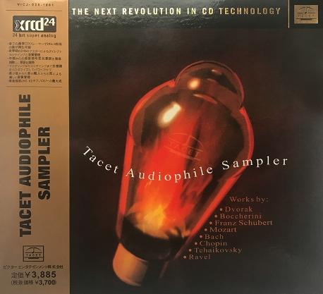 Tacet Audiophile Sampler (XRCD24)