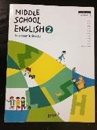 중학교 영어 2 교사용지도서 (동아출판-김성곤) - 시디 2장