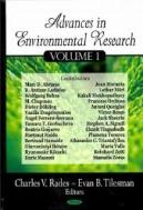 Advances in Environmental Research, Vol. 1 (ISBN : 9781604564136)