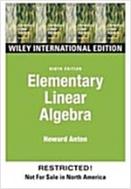 Elementary Linear Algebra (9th Edition, Paperback) #