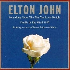 [미개봉] Elton John / Something About the Way You Look Tonight (수입/미개봉/Single)