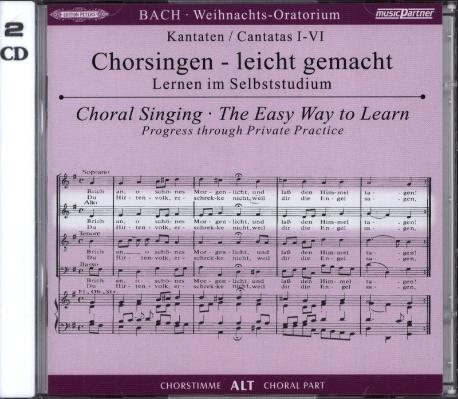 [수입] J.S. Bach: Weihnachts Oratorium BWV 248 [2CD]