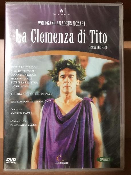 LA CLEMENZA DI TITO/ ANDREW DAVIS (티토 황제의 자비) 새상품 입니다.
