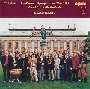 Okko Kamu / Beethoven : Symphonies Nos 1 & 2 (수입/19504)