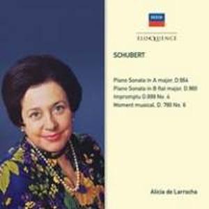 Alicia de Larrocha / 슈베르트: 피아노 소나타 13번 & 21번(수입/4807672)