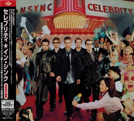 [일본반] N-Sync - Celebrity [+2 Bonus Track]