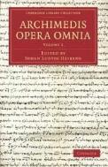Archimedis Opera Omnia  3 Volume Set