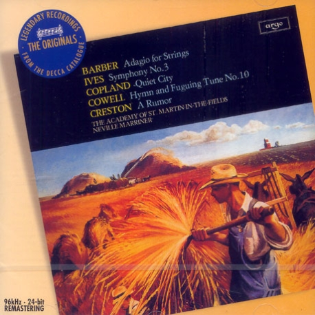 Barber Adagio For Strings Etc./ Neville Marriner